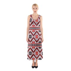 Folklore Sleeveless Maxi Dress