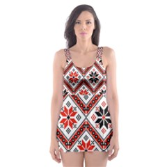 Folklore Skater Dress Swimsuit