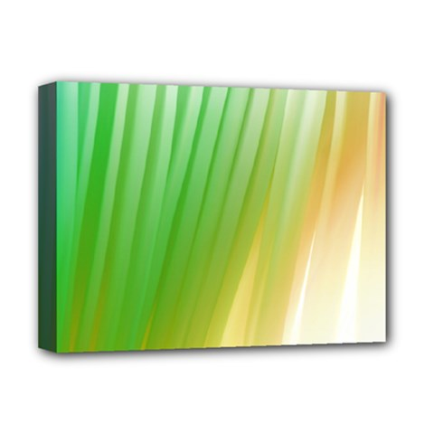 Folded Digitally Painted Abstract Paint Background Texture Deluxe Canvas 16  x 12