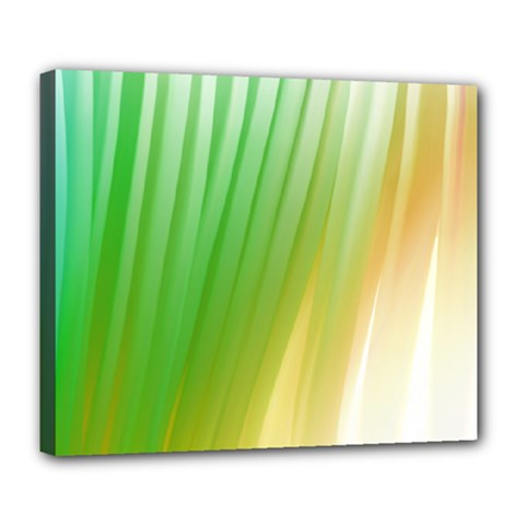Folded Digitally Painted Abstract Paint Background Texture Deluxe Canvas 24  X 20