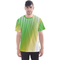 Folded Digitally Painted Abstract Paint Background Texture Men s Sport Mesh Tee