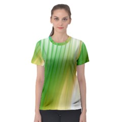 Folded Digitally Painted Abstract Paint Background Texture Women s Sport Mesh Tee