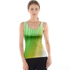 Folded Digitally Painted Abstract Paint Background Texture Tank Top