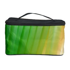 Folded Digitally Painted Abstract Paint Background Texture Cosmetic Storage Case