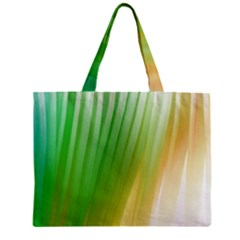 Folded Digitally Painted Abstract Paint Background Texture Zipper Mini Tote Bag