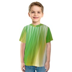 Folded Digitally Painted Abstract Paint Background Texture Kids  Sport Mesh Tee