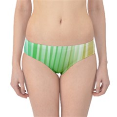 Folded Digitally Painted Abstract Paint Background Texture Hipster Bikini Bottoms