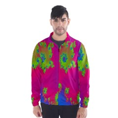 Digital Fractal Spiral Wind Breaker (men)