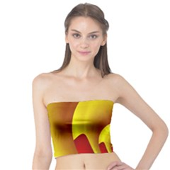 Red Gold Fractal Hypocycloid Tube Top