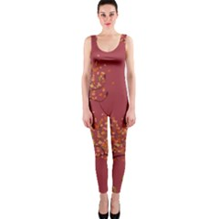 Beautiful Tree Background Pattern Onepiece Catsuit