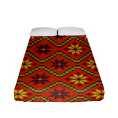 Folklore Fitted Sheet (full/ Double Size)