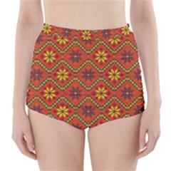 Folklore High-Waisted Bikini Bottoms