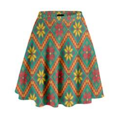 Folklore High Waist Skirt