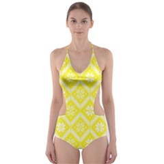 Folklore Cut-Out One Piece Swimsuit