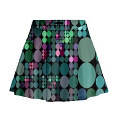 Color Party 03 Mini Flare Skirt