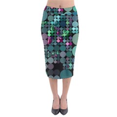 Color Party 03 Midi Pencil Skirt