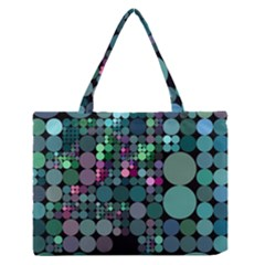 Color Party 03 Medium Zipper Tote Bag
