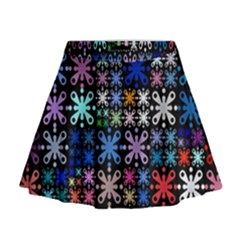 Color Party 01 Mini Flare Skirt