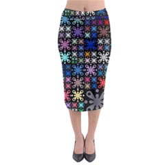 Color Party 01 Midi Pencil Skirt