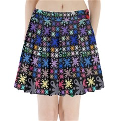 Color Party 01 Pleated Mini Skirt