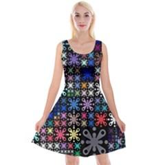 Color Party 01 Reversible Velvet Sleeveless Dress