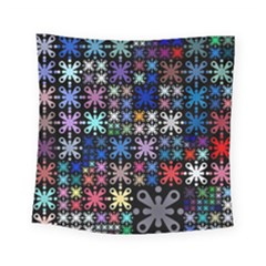 Color Party 01 Square Tapestry (small)