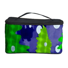 Christmas Trees And Snowy Landscape Cosmetic Storage Case