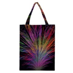 Fractal In Many Different Colours Classic Tote Bag