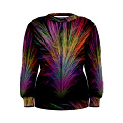 Fractal In Many Different Colours Women s Sweatshirt