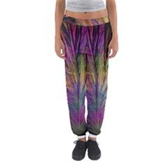 Fractal In Many Different Colours Women s Jogger Sweatpants