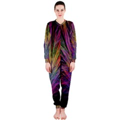 Fractal In Many Different Colours OnePiece Jumpsuit (Ladies)