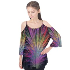 Fractal In Many Different Colours Flutter Tees