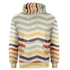 Abstract Vintage Lines Men s Pullover Hoodie