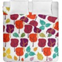 Colorful Trees Background Pattern Duvet Cover Double Side (King Size) View1