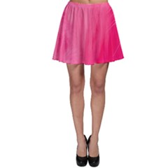 Very Pink Feather Skater Skirt