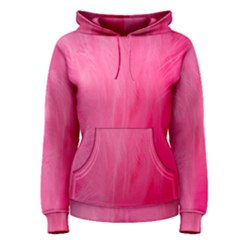 Very Pink Feather Women s Pullover Hoodie