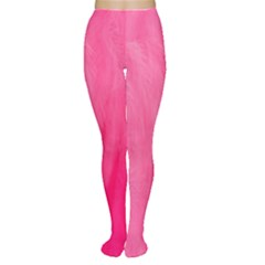 Very Pink Feather Women s Tights