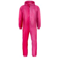 Very Pink Feather Hooded Jumpsuit (Men)