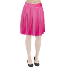 Very Pink Feather Pleated Skirt