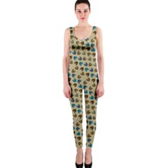 Abstract Seamless Pattern Onepiece Catsuit