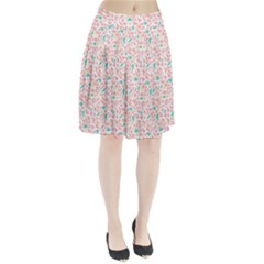Geometric Abstract Triangles Background Pleated Skirt