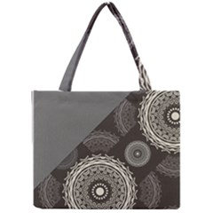 Abstract Mandala Background Pattern Mini Tote Bag