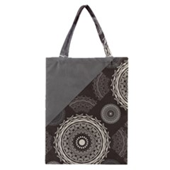 Abstract Mandala Background Pattern Classic Tote Bag