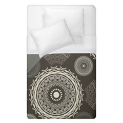Abstract Mandala Background Pattern Duvet Cover (single Size)