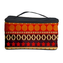 Abstract Lines Seamless Pattern Cosmetic Storage Case