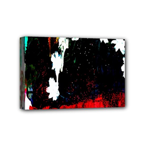 Grunge Abstract In Dark Mini Canvas 6  X 4