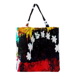 Grunge Abstract In Dark Grocery Tote Bag