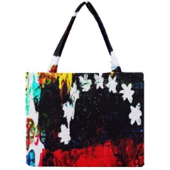 Grunge Abstract In Dark Mini Tote Bag