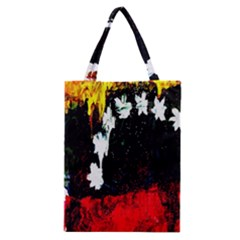 Grunge Abstract In Dark Classic Tote Bag