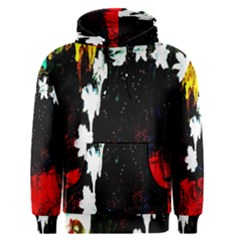 Grunge Abstract In Dark Men s Pullover Hoodie